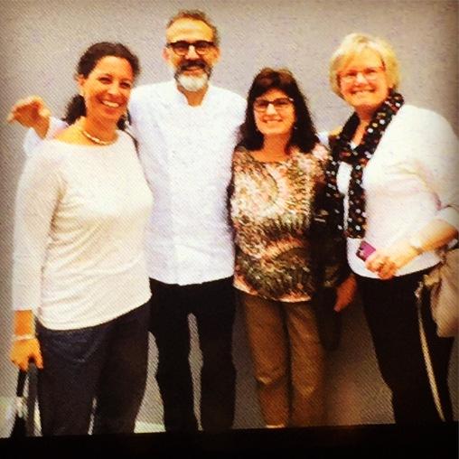 Jennie, Judy and Massimo